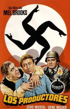 """""""The Producers"""" Spanish movie poster, 1968"""