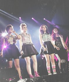 Little Mix I think Live show 8 or something.