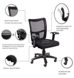 Rating : 3.7 out of 5  Reviews : More than 80 reviews about it.  The reviews and rating indicate it is a good one  It's approximate price is Rs. 4,500 Best Computer Chairs, Student Chair, Rs 4, Mesh Chair, Home Office Chairs, Study Office, India, Goa India, Indie