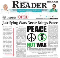 kashmir reader_adnan_oktar_justifying_wars_never_brings_peace