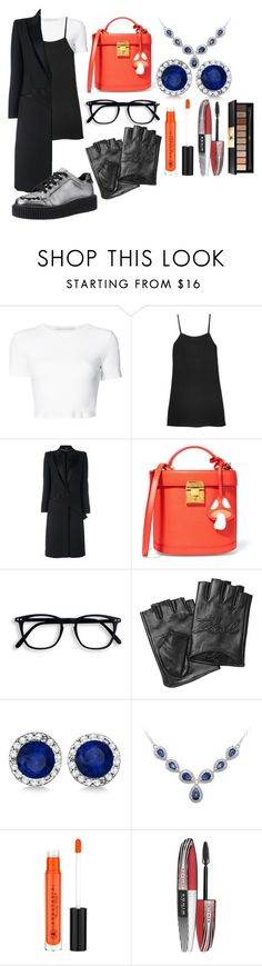 """""""Untitled #2162"""" by ltguuk ❤ liked on Polyvore featuring Rosetta Getty, Reformation, Alexander McQueen, Mark Cross, Karl Lagerfeld, Allurez, L'Oréal Paris and Yves Saint Laurent"""