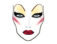 The COLUMBIA M∙A∙C L@@K - http://www.maccosmetics.com/images/looks/print/rockyhorrorlooks.pdf