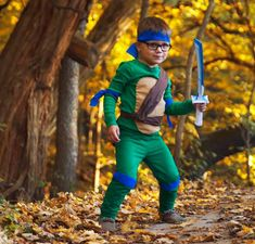 34a9ac0bc No-Sew DIY ninja turtle characters Costume | Primary.com Turtle Costumes,  Sewing