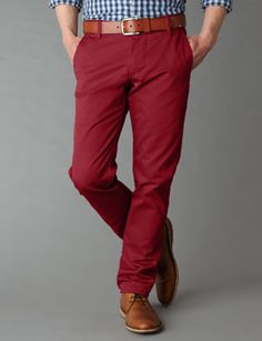 These are my next pants. Fantastic way to add a pop of color to an outfit.