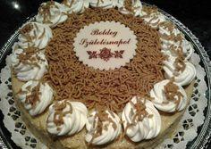 Gesztenye torta recept foto Tiramisu, Great Recipes, First Birthdays, Biscuits, Sweet Treats, Cooking Recipes, Birthday Cake, Pie, Sweets