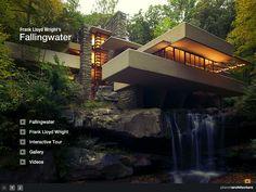 Fallingwater by Frank Lloyd Wright (1936-1939)