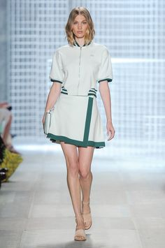 New York Fashion Week Spring 2014: The Best Looks - Lacoste Spring 2014
