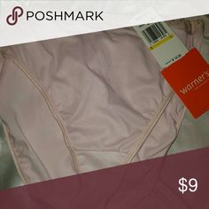 NWT Warner briefs L Lught Pink. Nice elastic waistband Warner's Intimates & Sleepwear Panties