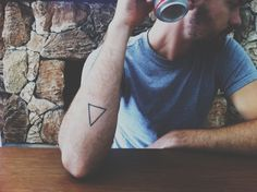 Triangle Tattoo - A cord of three strands is not quickly broken.
