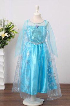 Frozen Princess Dress (Elsa)-The Creative Playroom