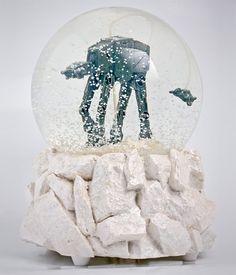 Star Wars AT-AT Snow Globe