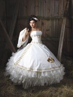 Love this quinceanera dress from La Glitter! http://www.mydallasquinceanera.com/dresses