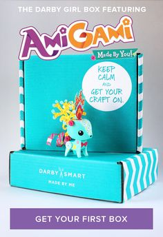 This little guy is an extra surprise in this month's Darby Girl Box