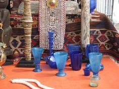 Blue glasses -  Mercatino antiquariato Chiavari