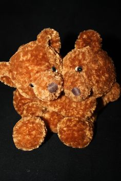 RUSS BALLYHOO Teddy Bears HeLp uS PwEaSe Cute Plush Bear Buddies Need a New Home #Russ