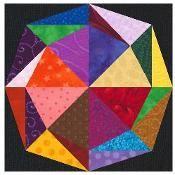 Kaleidoscope Circle  Paper Pieced - via @Craftsy