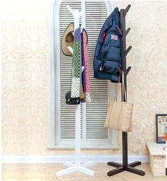 european style whiteblack coatrack wood coat racks standwooden living room furnishing decor