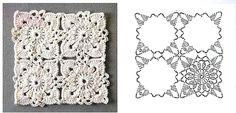 Uncinetto e crochet: Tutorial come realizzare le piastrelle all'uncinetto