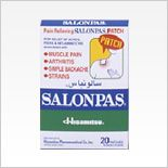 Salonpas Patch (CAD Formula A) #pain_relief patch menthol and camphor. LOVE for #arthritis pain.  Found at healthfood store $15 for 40 patches