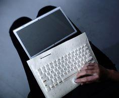 wireless felt keyboard