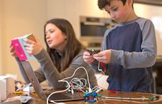 Micro:bit projects are fun for the whole family! If you are interested in the micro:bit bit but can't get a hold of one? Take a look at our Start Arduino or DIY Gamer Kits to spark imaginations Educational Toys For Toddlers, Coding For Kids, Research And Development, Learn To Code, Project Based Learning, Music Classroom, Music Education, Starter Kit, Kids And Parenting