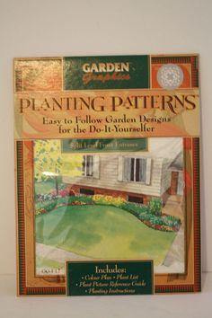 Planting Patterns Design Split Level Front Entrance Plans List Instructions Plan #GardenGraphics