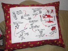 Buffy the Vampire Slayer Hush pillow.