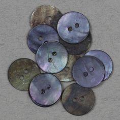Perlemor lavendel 15mm - Perlemor - Knapper