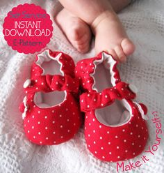 7+sizes++Baby+Mary+Jane+Shoes++PDF+Sewing+by+LittleMelaDesign,+$4.65