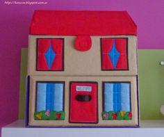 1000 images about casitas de fieltro on pinterest felt - Casas de fieltro ...