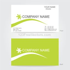 Vector business card design template free vectors pinterest business card template illustrator accmission Image collections