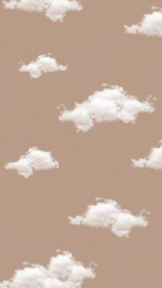 Aesthetic beige cloud wallpaper ~ Credits to Original Owner ♡~ Wallpaper Pastel, Look Wallpaper, Cute Patterns Wallpaper, Brown Wallpaper, Iphone Background Wallpaper, Aesthetic Pastel Wallpaper, Aesthetic Backgrounds, Tumblr Wallpaper, Cartoon Wallpaper