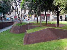 PLAÇA DE LA VILA DE MADRID by BCQ ARQUITECTES, BARCELONA, SPAIN, 2008
