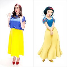 Pin for Later: We're Already Planning Our Disney Street Style Star Halloween Costume Snow White