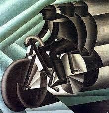 By Fortunato Depero - March 1892 – November 1960 - Italian futurist painter, writer, sculptor and graphic designer. Futurist Painting, Giacomo Balla, Italian Futurism, Modern Art, Contemporary Art, Futurism Art, Art Nouveau, Bicycle Art, Italian Painters