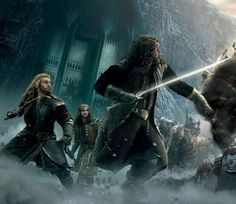 Kili, don't look so frightened. The end is near, and the greatest adventure is about to begin. And you and your brother and uncle will never ever be separated. You will be together, with the people you love. Don't be frightened.