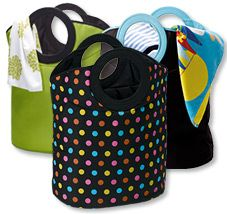 A fabulous laundry bag that is available in vibrant decorator colours, this large and roomy bag will hold a stack of dirty washing while looking great. These great household items are perfect for the laundry, or. As a beach.