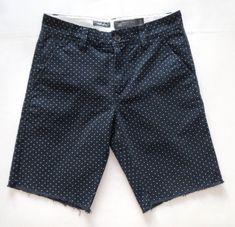 NEW Hawkings McGill men's Shorts Size 28 Navy Blue & White Polka Dot Urban  #HawkingsMcGill #CasualShorts