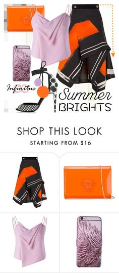 """""""www.infinituscases.com"""" by infinituscases ❤ liked on Polyvore featuring Peter Pilotto, Versace, Pierre Hardy, iphone, phonecases, cases, summerbrights and infinituscases"""