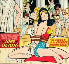 Wonder Woman's Mom (Wonder Woman #207 - 1973)