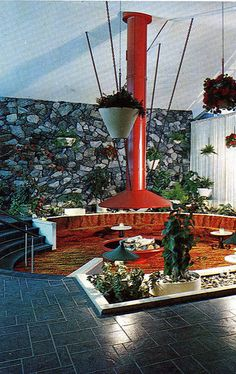 Holiday Inn firepit Bethlehem PA. This could not possible still be like this or it would be my new hangout.