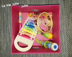 Instruments de musique en bois pour bébé