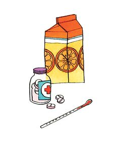 What to do (and not do) when your sick.  Good advice on when to take Tylenol vs Advil, etc. (via Real Simple)
