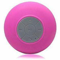 splash shower tunes- Bluetooth waterproof speaker and remote!