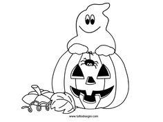 Disegni da colorare e stampare di halloween gratis
