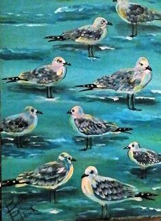 Seagulls Barbara Paddack Art