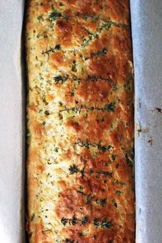 Cheese Olive and Buttermilk Herb Bread