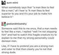 Misogyny, feminism