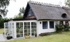 Ewas och Håkans uterum är byggt i aluminium och i stort sett underhållsfritt.