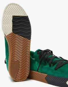 huge discount 43dee 71190 Adidas x Alexander Wang  AW Skate in Green